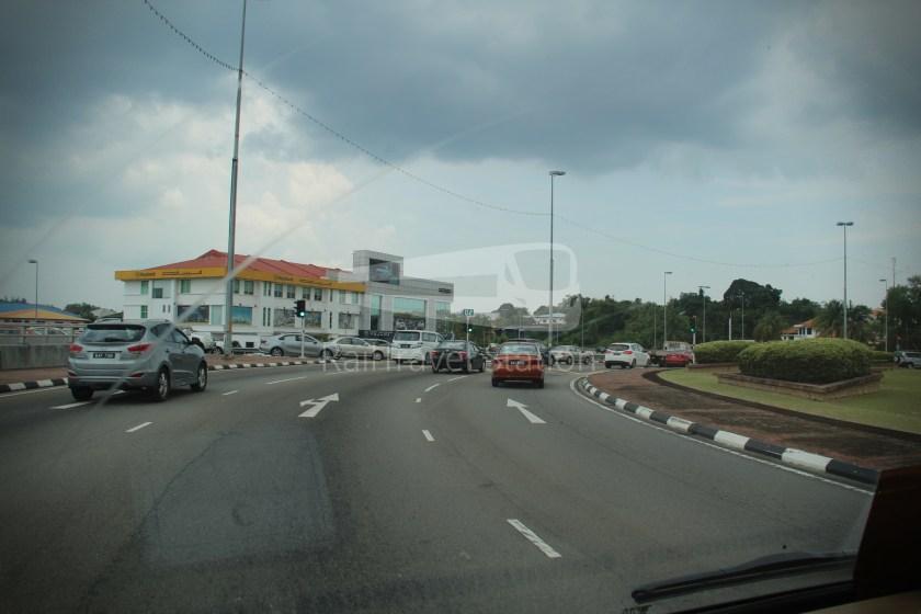 Brunei-Muara Service 01C BSB Bus Terminal Clockwise 031