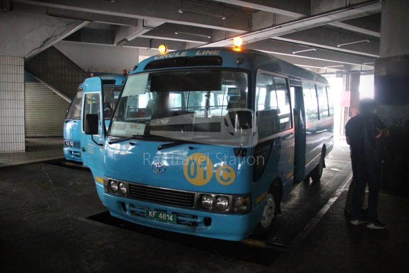 Brunei-Muara Service 01C BSB Bus Terminal Clockwise 073