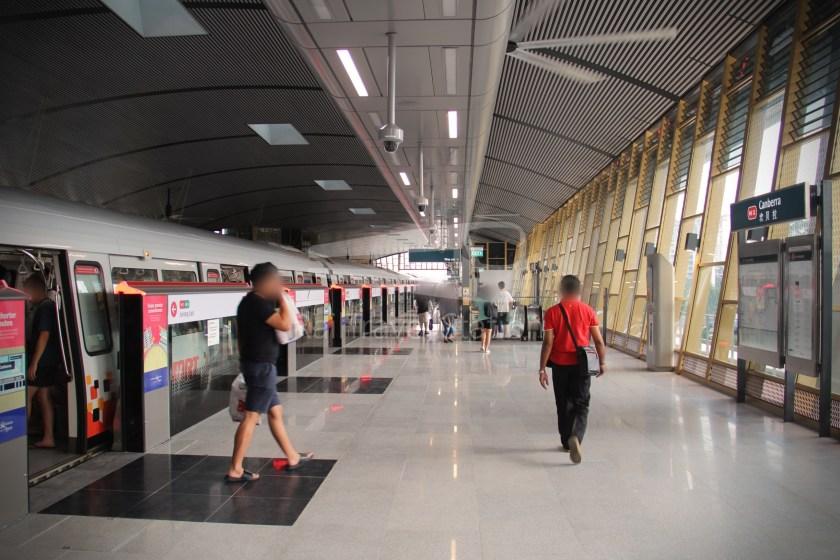 Canberra MRT Station 010