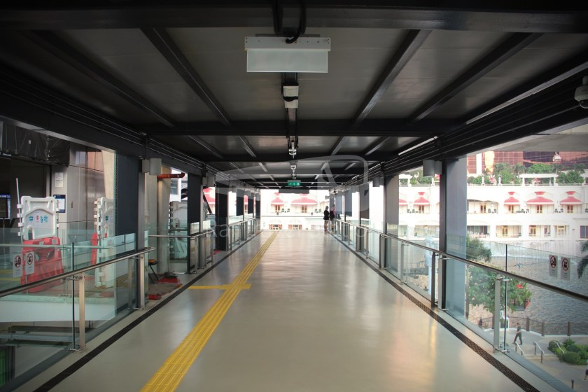 Cotai Leste LRT Station Preview 010