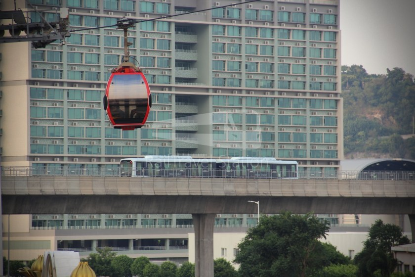 Cotai Leste LRT Station Preview 017