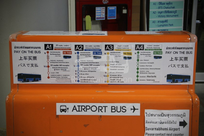 Don Mueang Airport Bus A1 DMK Mo Chit BTS 003