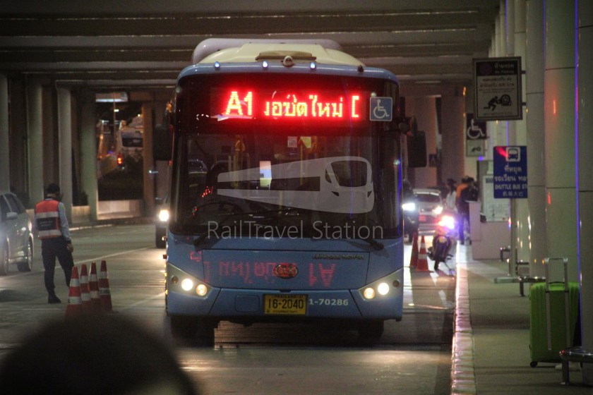 Don Mueang Airport Bus A1 DMK Mo Chit BTS 006