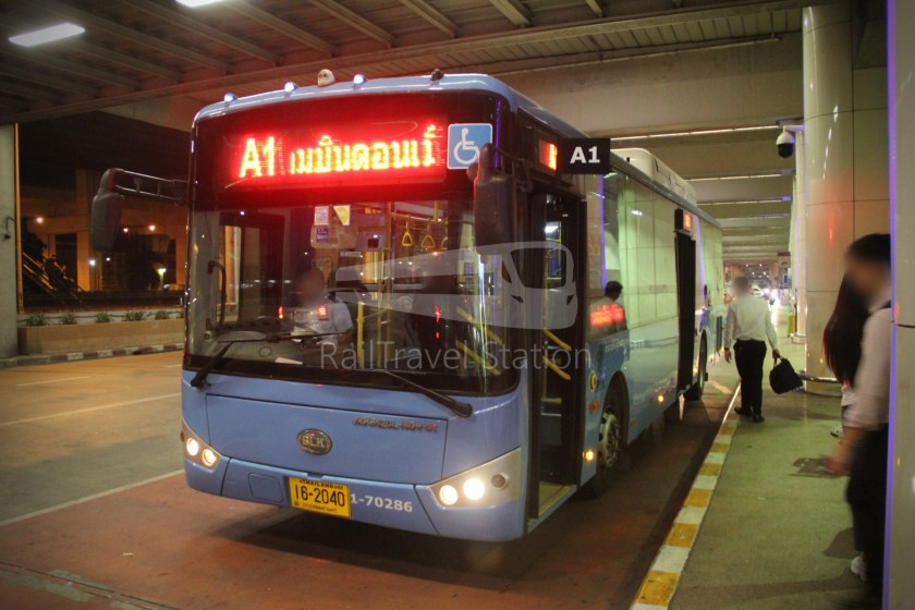 Don Mueang Airport Bus A1 DMK Mo Chit BTS 007