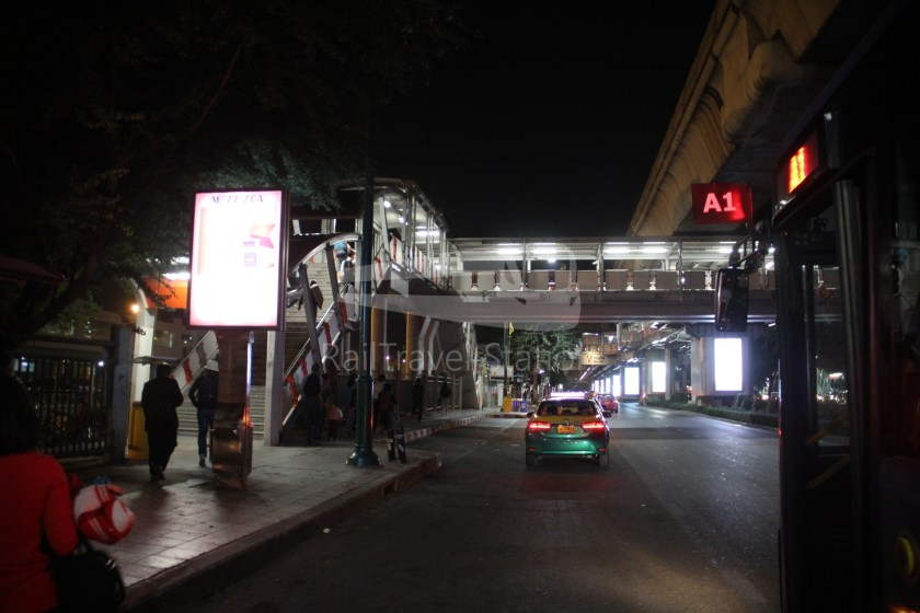 Don Mueang Airport Bus A1 DMK Mo Chit BTS 022