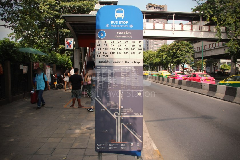 Don Mueang Airport Bus A1 Mo Chit BTS DMK 012