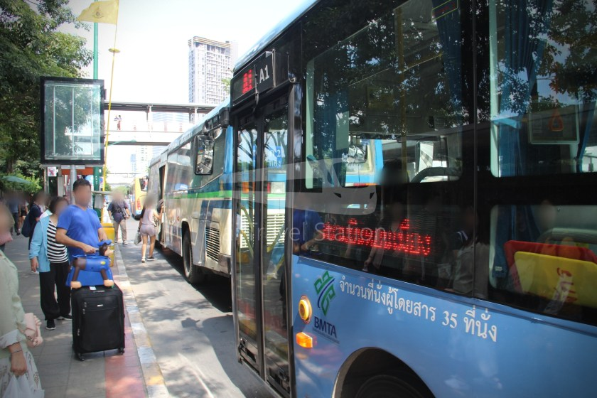 Don Mueang Airport Bus A1 Mo Chit BTS DMK 015