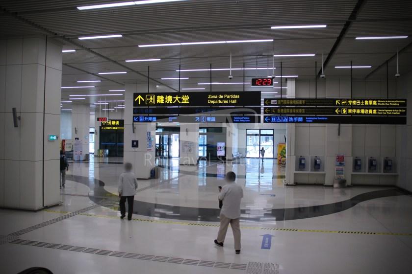 HZM Bus HZMB Macau Port HZMB Hong Kong Port 009