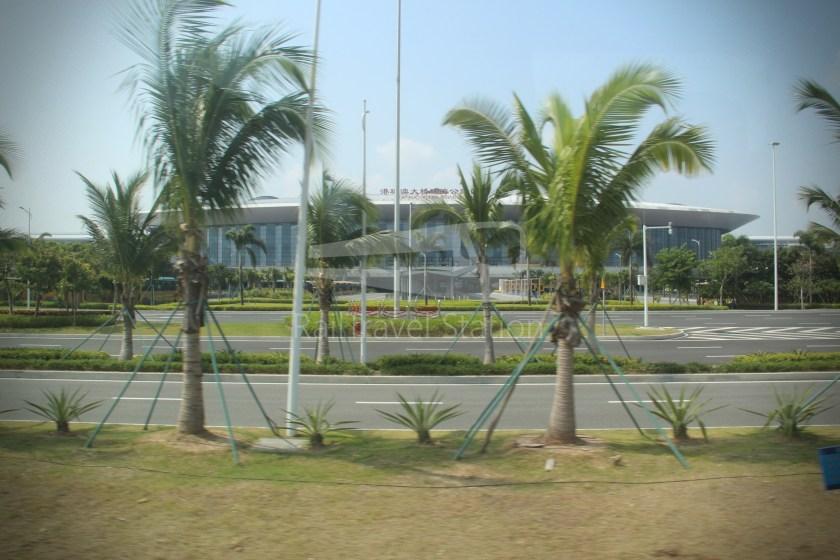 HZM Bus HZMB Macau Port HZMB Hong Kong Port 026