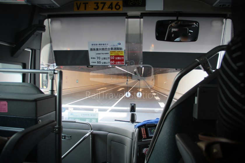 HZM Bus HZMB Macau Port HZMB Hong Kong Port 043
