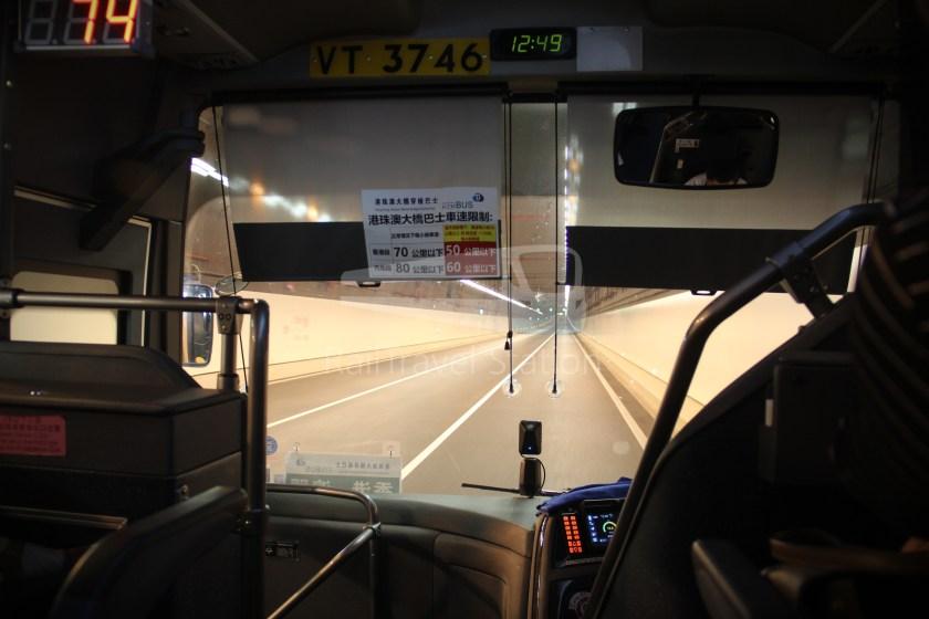 HZM Bus HZMB Macau Port HZMB Hong Kong Port 044
