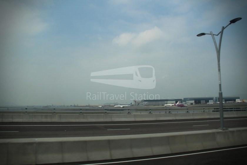 HZM Bus HZMB Macau Port HZMB Hong Kong Port 054