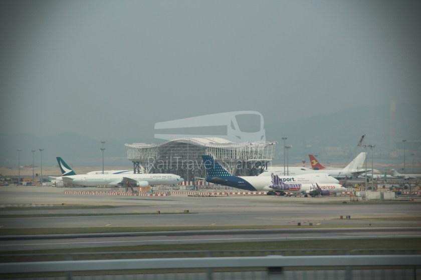 HZM Bus HZMB Macau Port HZMB Hong Kong Port 055