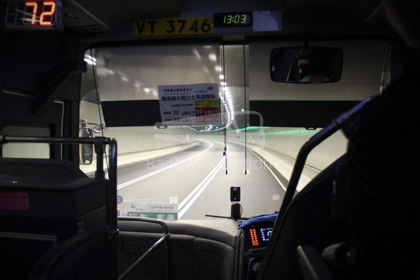 HZM Bus HZMB Macau Port HZMB Hong Kong Port 058
