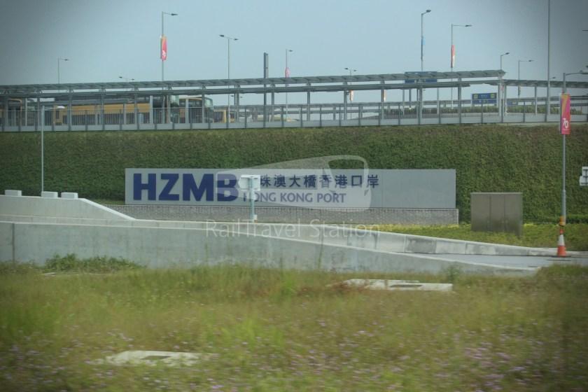 HZM Bus HZMB Macau Port HZMB Hong Kong Port 064