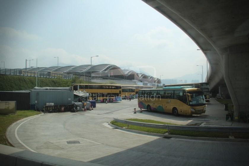 HZM Bus HZMB Macau Port HZMB Hong Kong Port 066