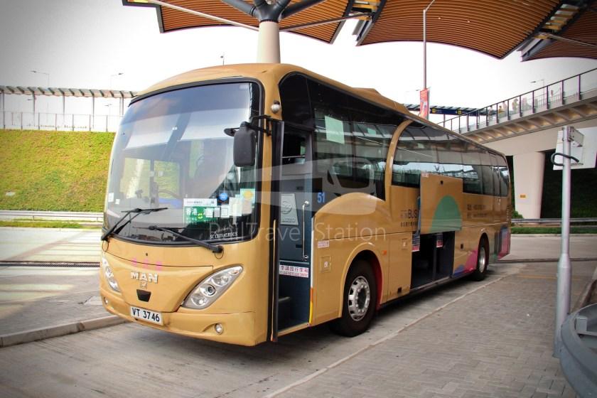 HZM Bus HZMB Macau Port HZMB Hong Kong Port 070