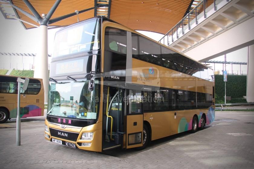 HZM Bus HZMB Macau Port HZMB Hong Kong Port 071