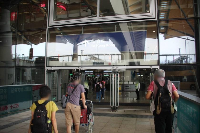 HZM Bus HZMB Macau Port HZMB Hong Kong Port 072