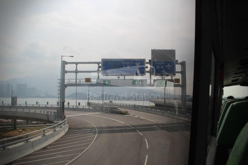 New Lantao Bus B4 HZMB Hong Kong Port Airport 028
