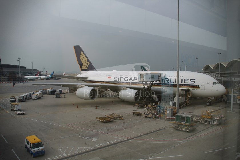 Singapore Airlines SQ861 Hong Kong Singapore 016