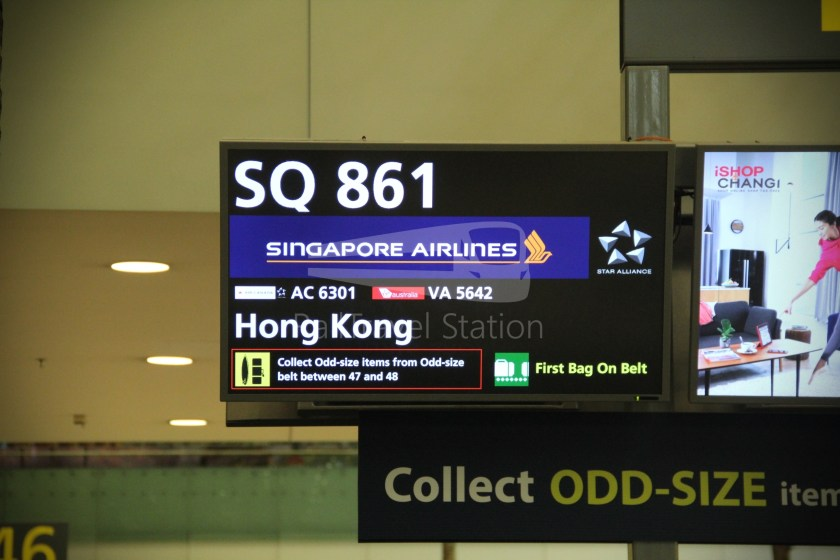 Singapore Airlines SQ861 Hong Kong Singapore 068