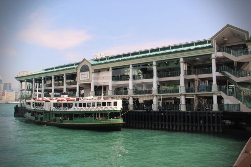 Star Ferry Central Tsim Sha Tsui Lower Deck 007