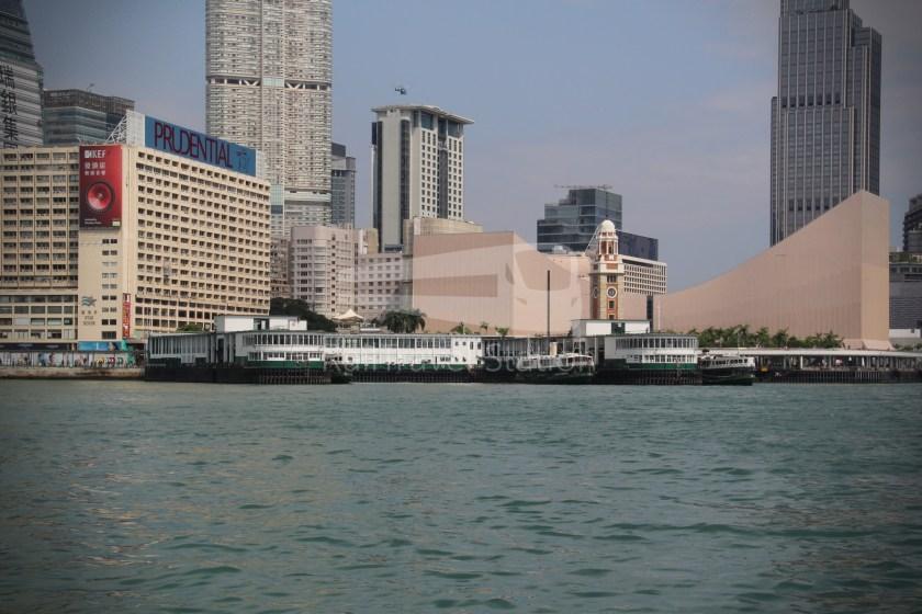Star Ferry Central Tsim Sha Tsui Lower Deck 037