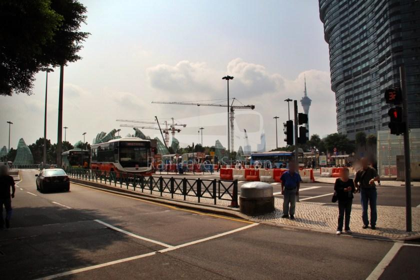 TCM 101X Praça Ferreira Amaral Posto Fronteiriço da Ponte Hong Kong–Zhuhai–Macau 001