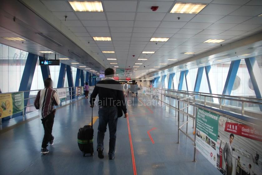 TurboJET Hong Kong Macau Ferry Terminal Macau Outer Harbour Ferry Terminal 007