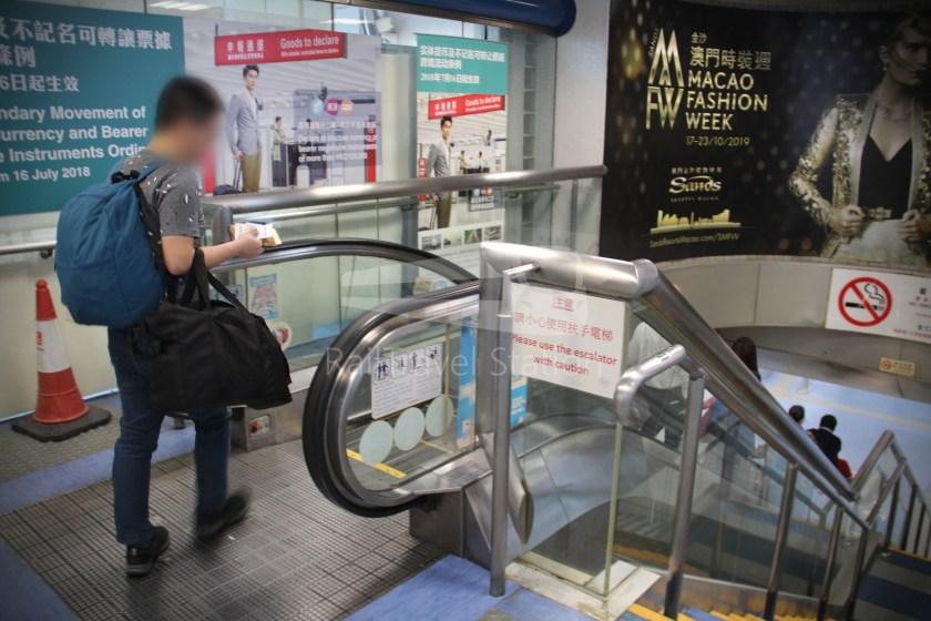 TurboJET Hong Kong Macau Ferry Terminal Macau Outer Harbour Ferry Terminal 010