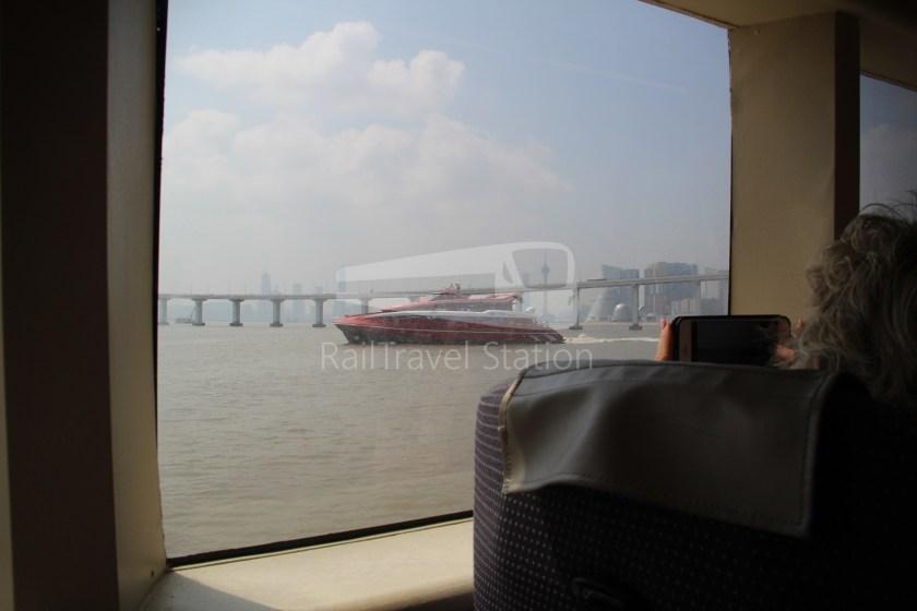 TurboJET Hong Kong Macau Ferry Terminal Macau Outer Harbour Ferry Terminal 049