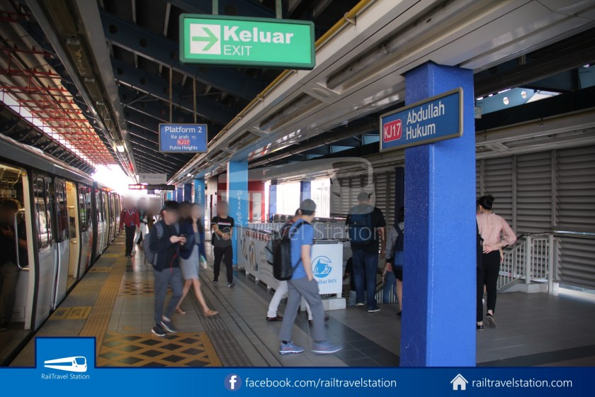 Abdullah Hukum LRT & KTM – KL Eco City – The Gardens Mid Valley Link Bridge 005