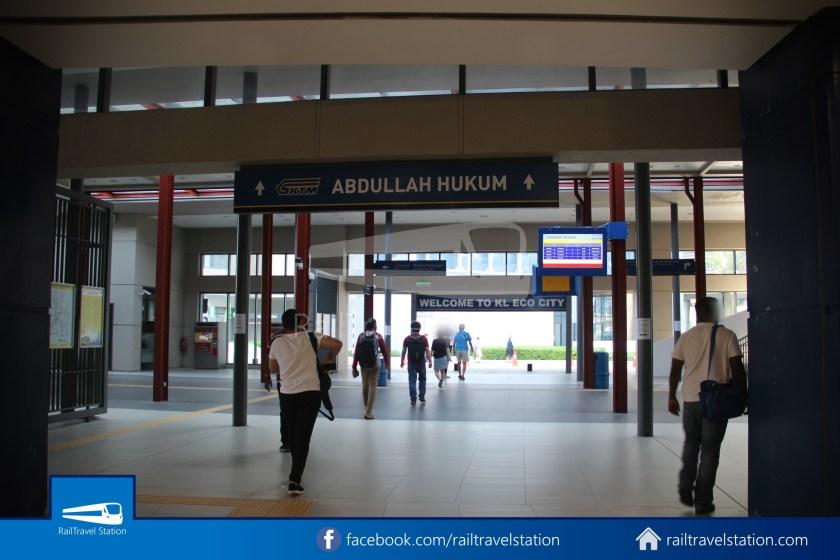 Abdullah Hukum LRT & KTM – KL Eco City – The Gardens Mid Valley Link Bridge 012