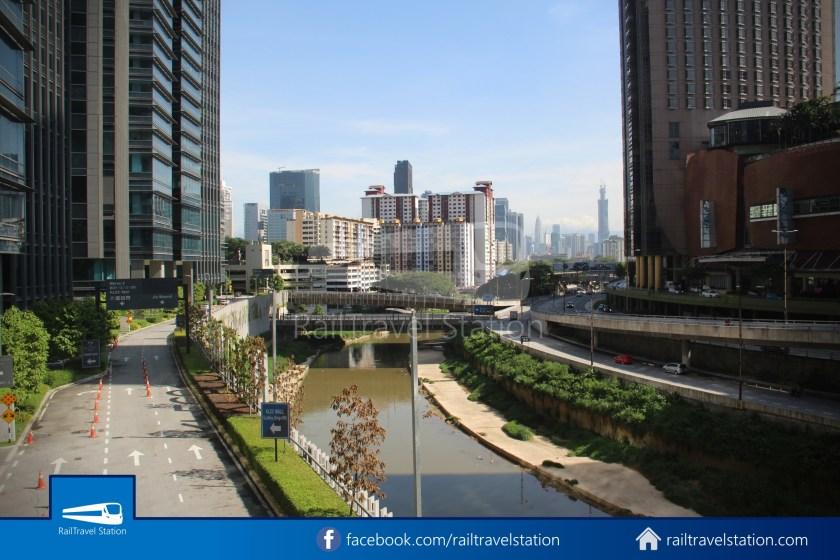 Abdullah Hukum LRT & KTM – KL Eco City – The Gardens Mid Valley Link Bridge 036