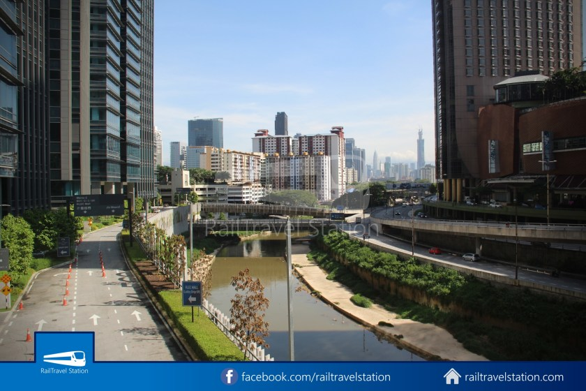 Abdullah Hukum LRT & KTM – KL Eco City – The Gardens Mid Valley Link Bridge 036