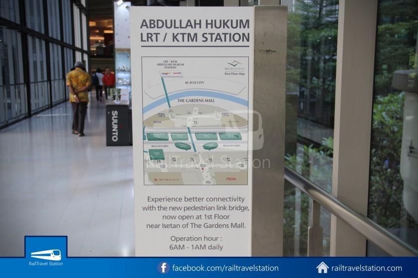 Abdullah Hukum LRT & KTM – KL Eco City – The Gardens Mid Valley Link Bridge 056