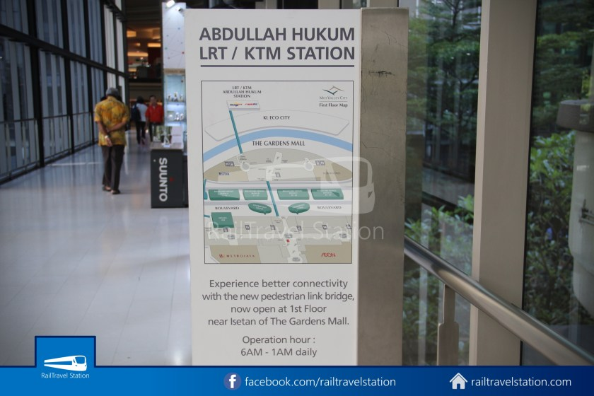 Abdullah Hukum LRT & KTM – KL Eco City – The Gardens Mid Valley Link Bridge 056