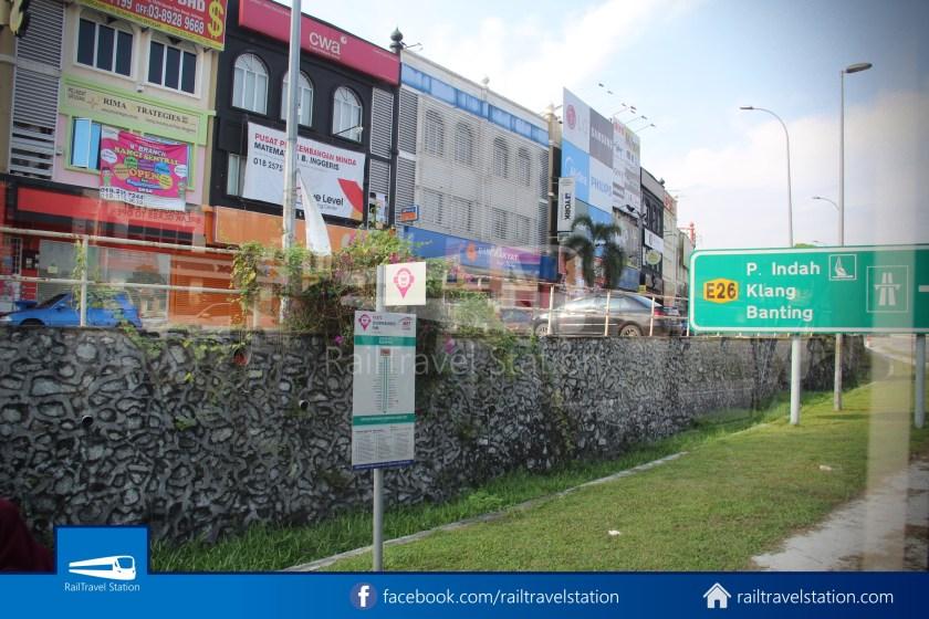 MRT SBK Line Feeder Bus T462 Kajang MRT KIPMall Bangi 008