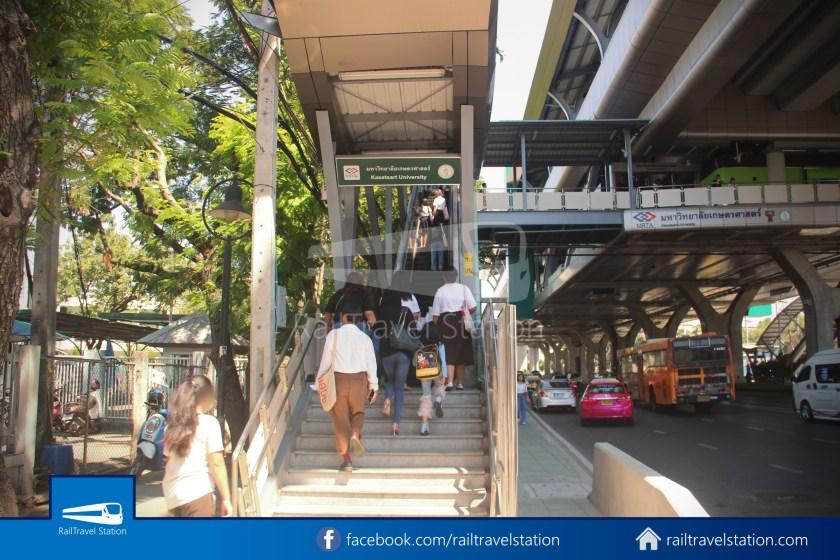 BTS Kasetsart University Extension Kasetsart University Mo Chit 001
