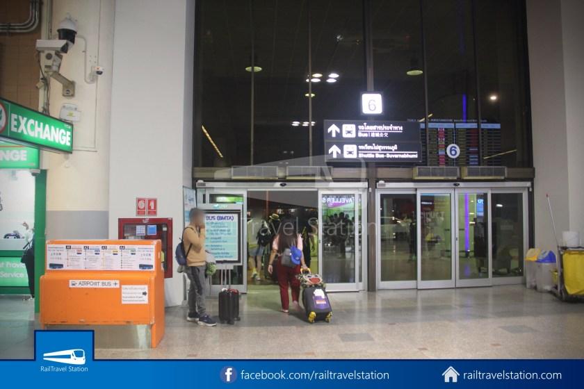 Don Mueang Airport Bus A1 DMK Chatuchak Park MRT 001