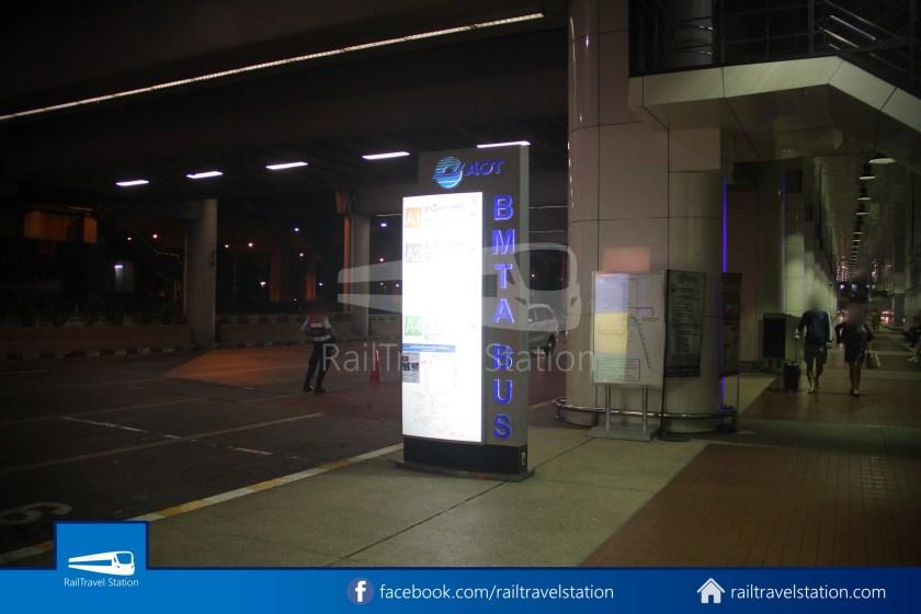 Don Mueang Airport Bus A1 DMK Chatuchak Park MRT 002