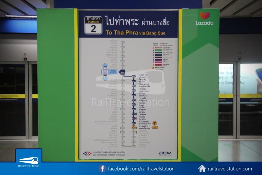 Don Mueang Airport Bus A1 DMK Chatuchak Park MRT 023