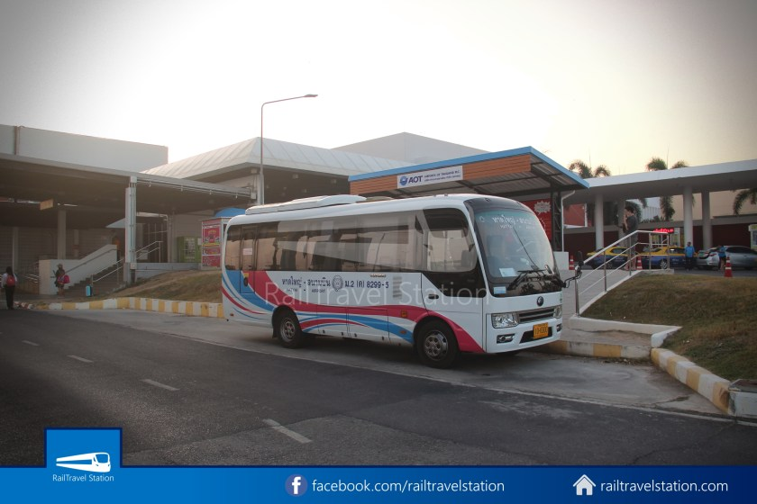 Hat Yai Airport Minibus Airport Bus Station 009