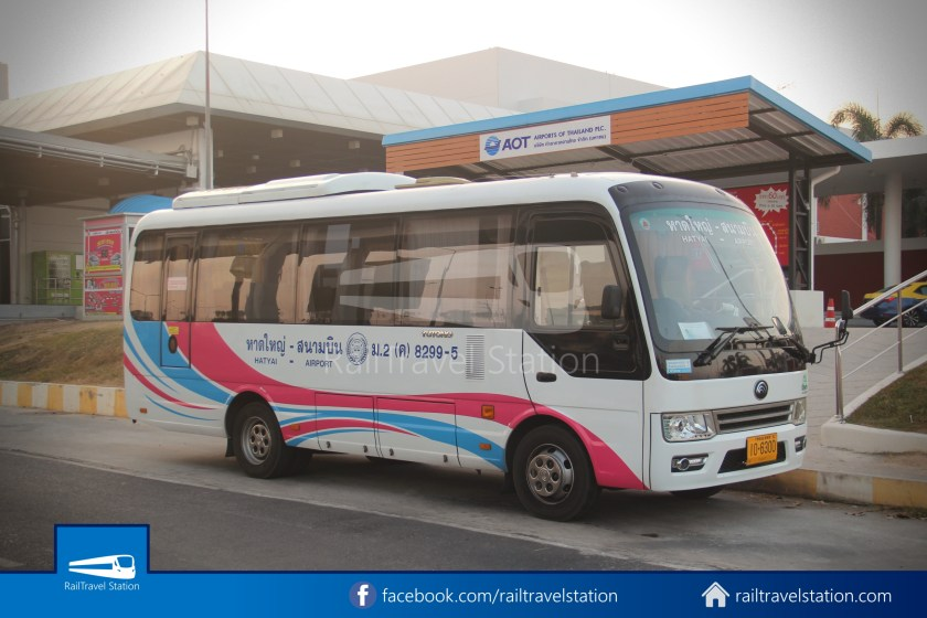 Hat Yai Airport Minibus Airport Bus Station 010