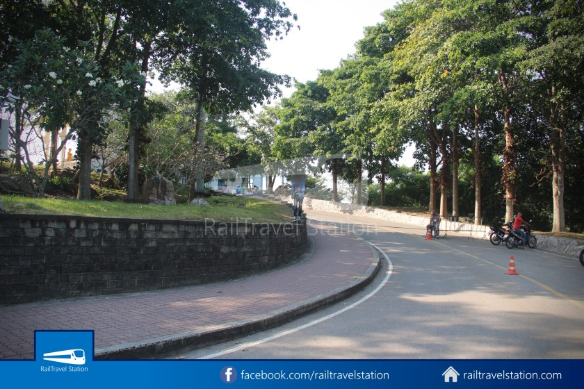 Hat Yai City Municipality Park Shuttle Songthaew Wonders Land Cable Car 025