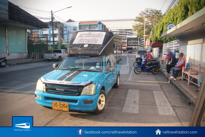 Hat Yai Songthaew Blue 8438 Bus Terminal Kim Yong 004