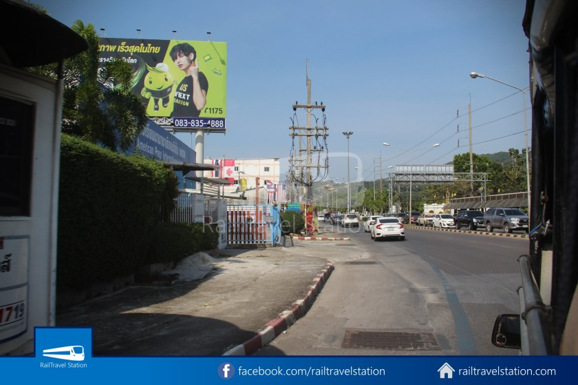 Hat Yai Songthaew White Route 4 Big C 2 Hat Yai Park 002