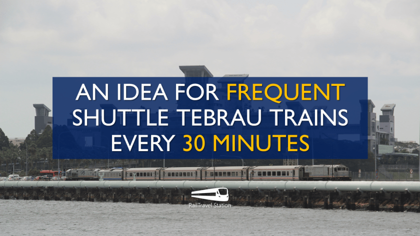 RailTravel Station Cover Idea 30 Minute Shuttle Tebrau
