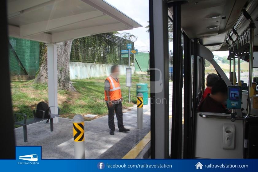 SMRT 856 Woodlands Train Checkpoint Woodlands North MRT 007
